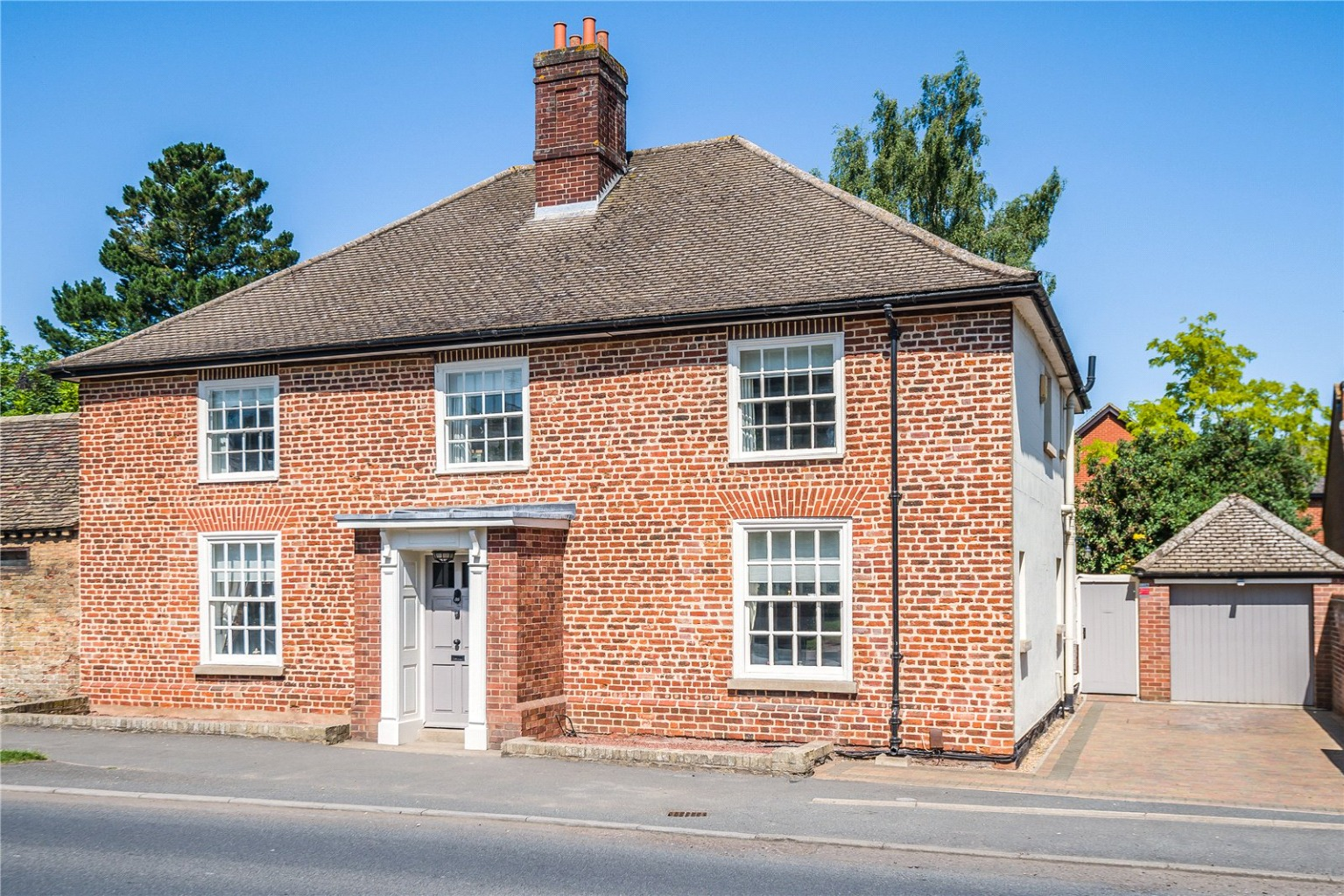 A rare opportunity has arisen to acquire this stunning grade II listed, detached House, which is one of only seven domestic properties featured in *The Hartford Heritage Trail.