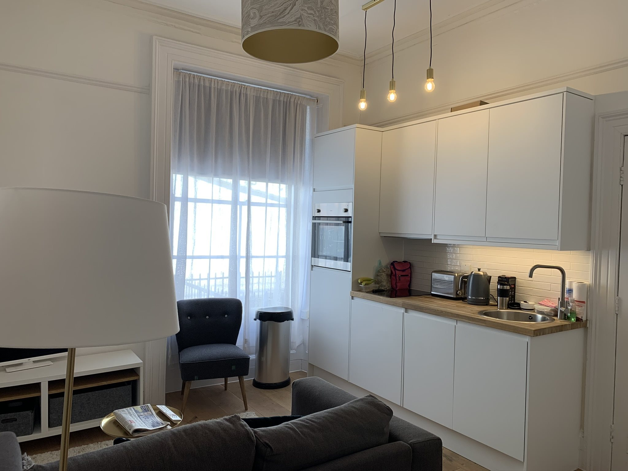 1 bed flat to rent in Oakfield Place, Clifton, BS8