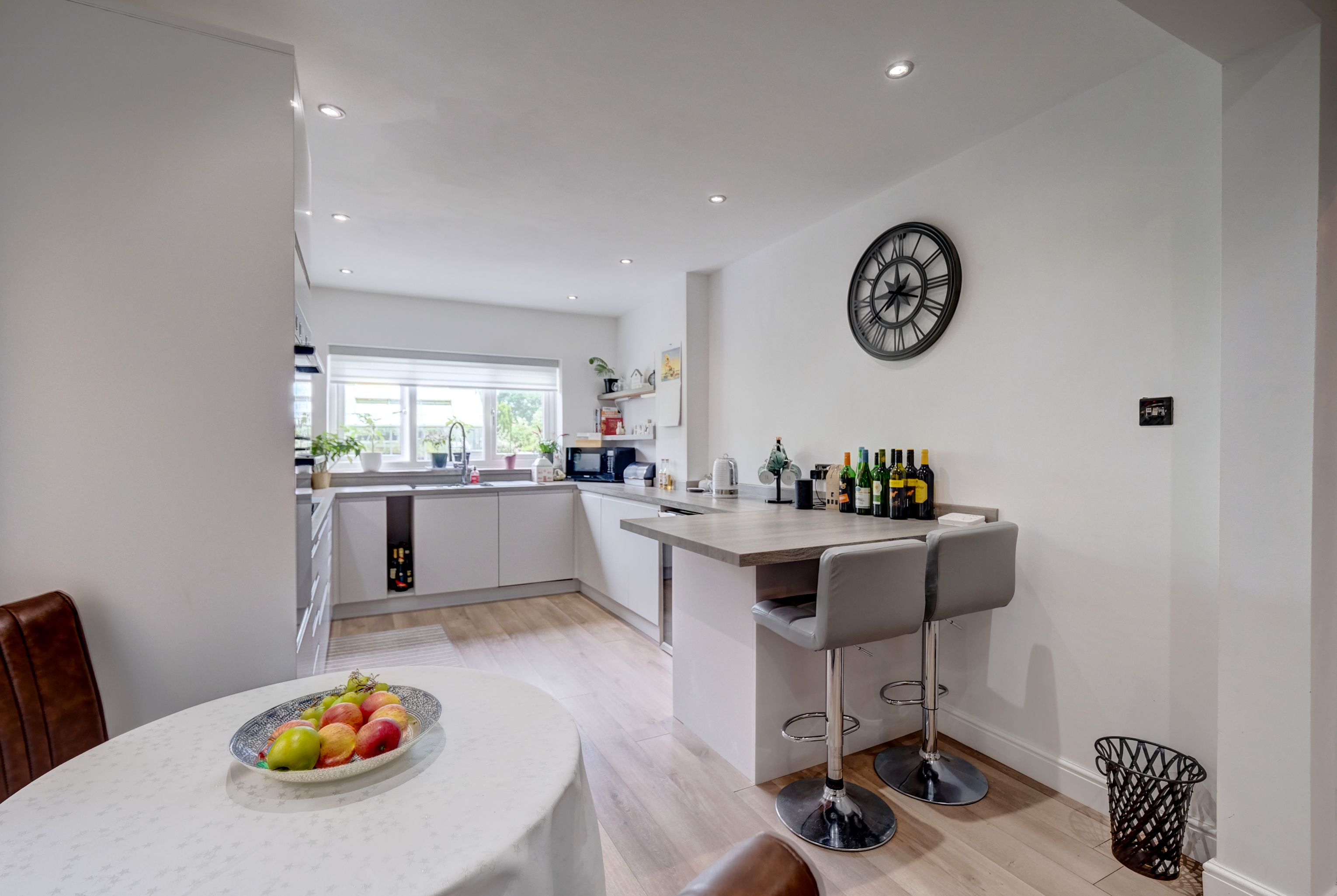 The property briefly comprises an entrance hall, kitchen/diner, lounge, conservatory, dining room/ground floor bedroom, three bedrooms and a shower room. With benefits including gas central heating (with recently fitted boiler), double glazing, off-road parking for multiple vehicles, a south-facing garden and an integral garage.
