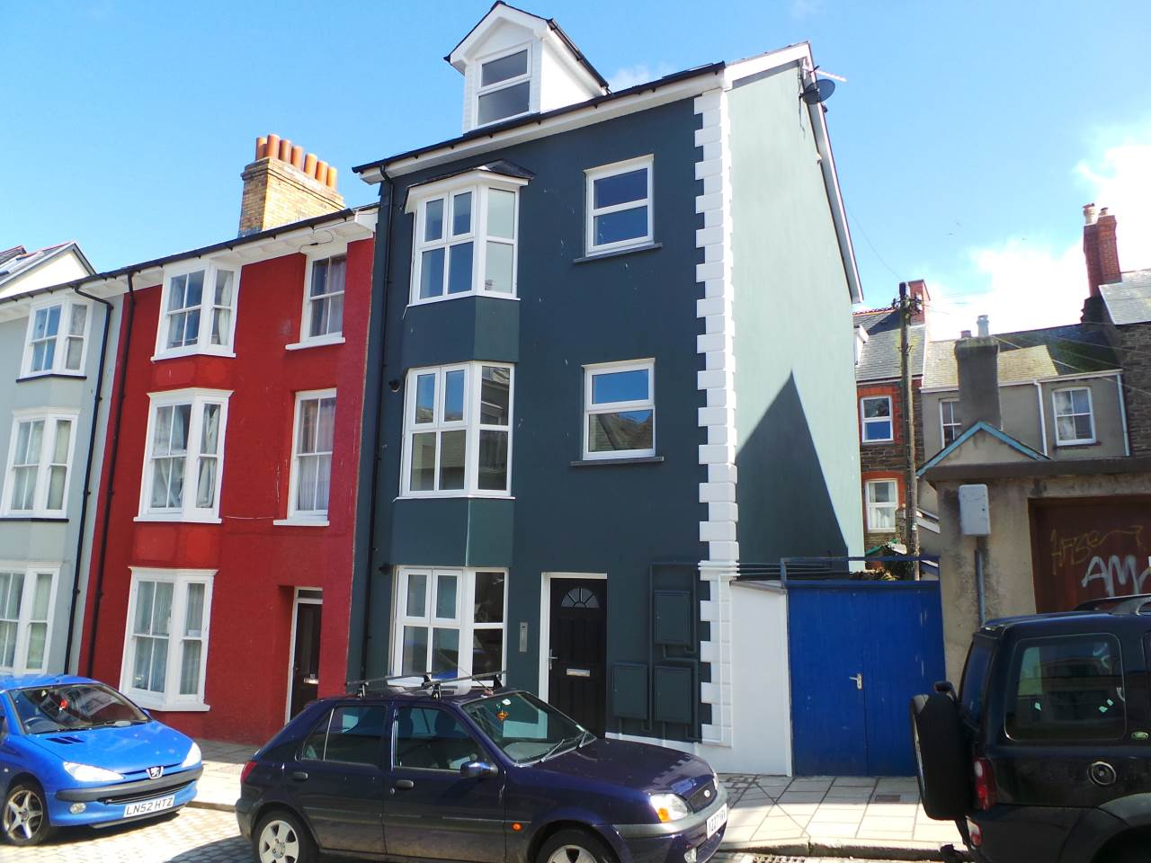 2 bed flat to rent in Corporation Street, Aberystwyth, SY23
