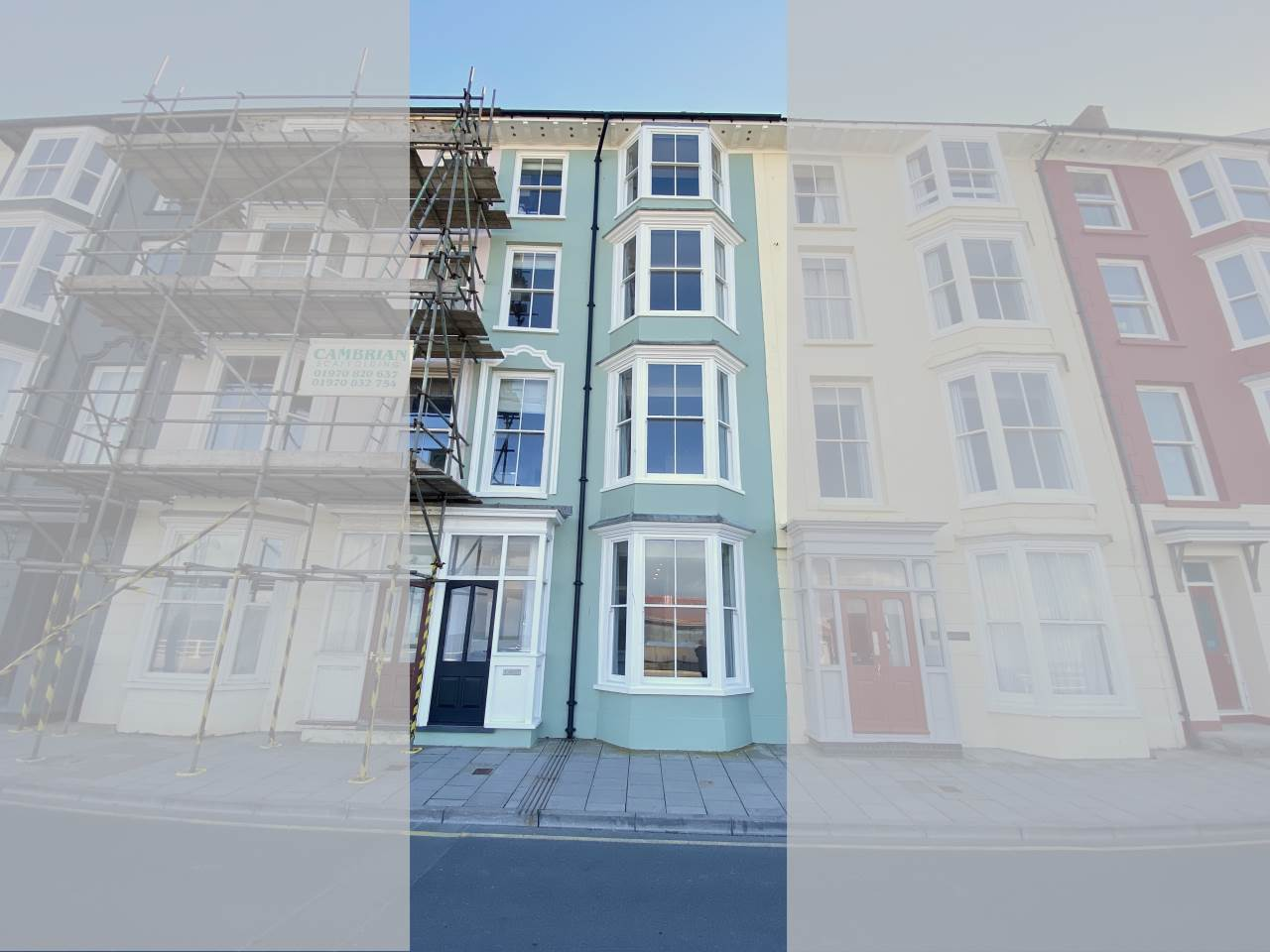 1 bed flat to rent in Marine Terrace, Aberystwyth  - Property Image 1