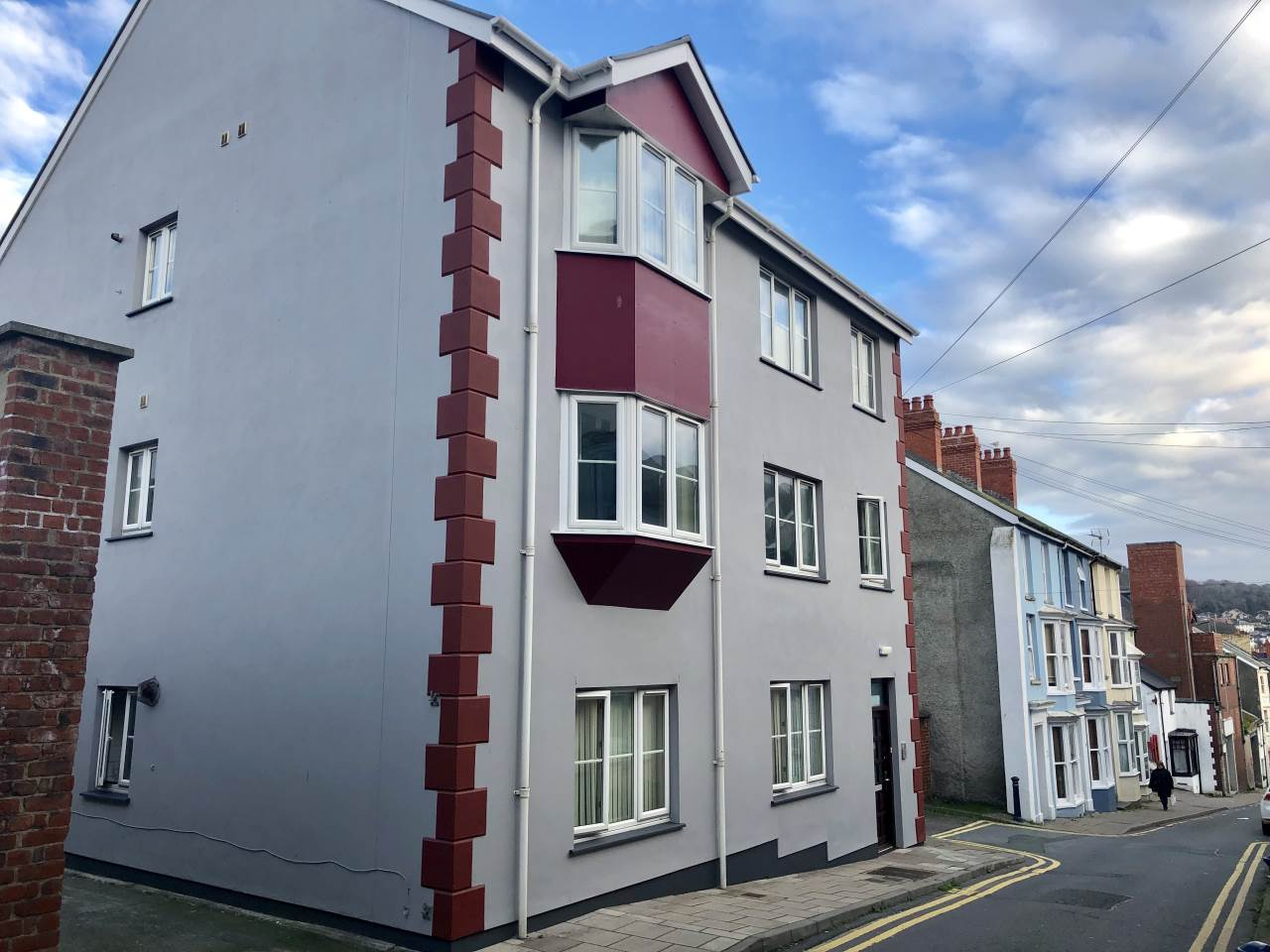 1 bed flat to rent in Queen Street, Aberystwyth, SY23