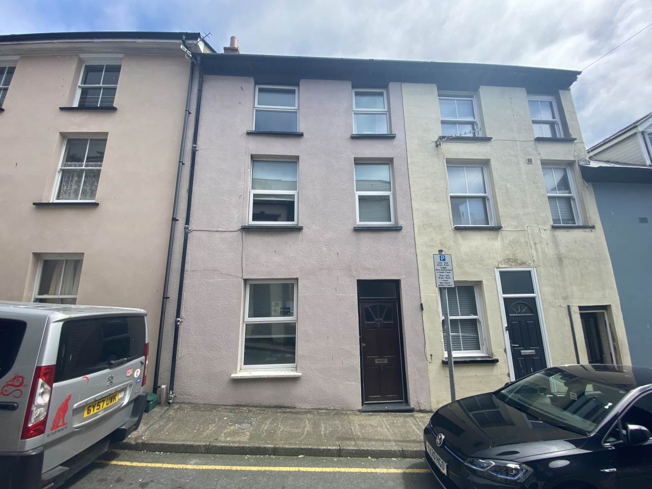 3 bed terraced house for sale in 3 George Street, Aberystwyth - Property Image 1