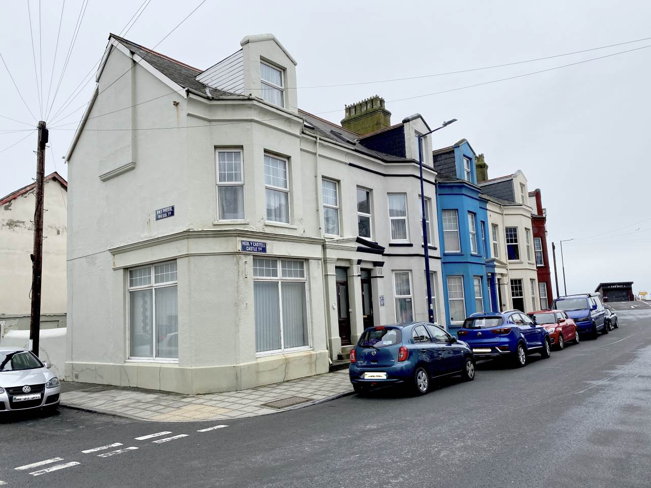 8 bed end of terrace house for sale in Castle Terrace, South Road, SY23