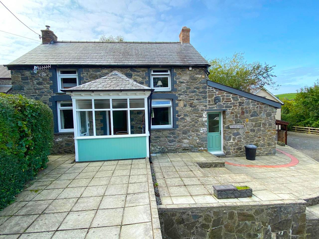 3 bed detached house for sale in Taigwynion, Llandre, SY24