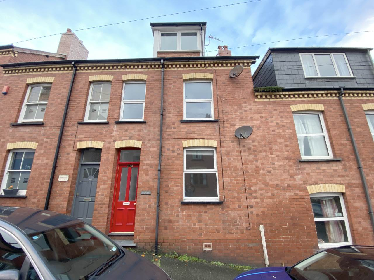 4 bed terraced house for sale in Edgehill Road, Aberystwyth  - Property Image 1