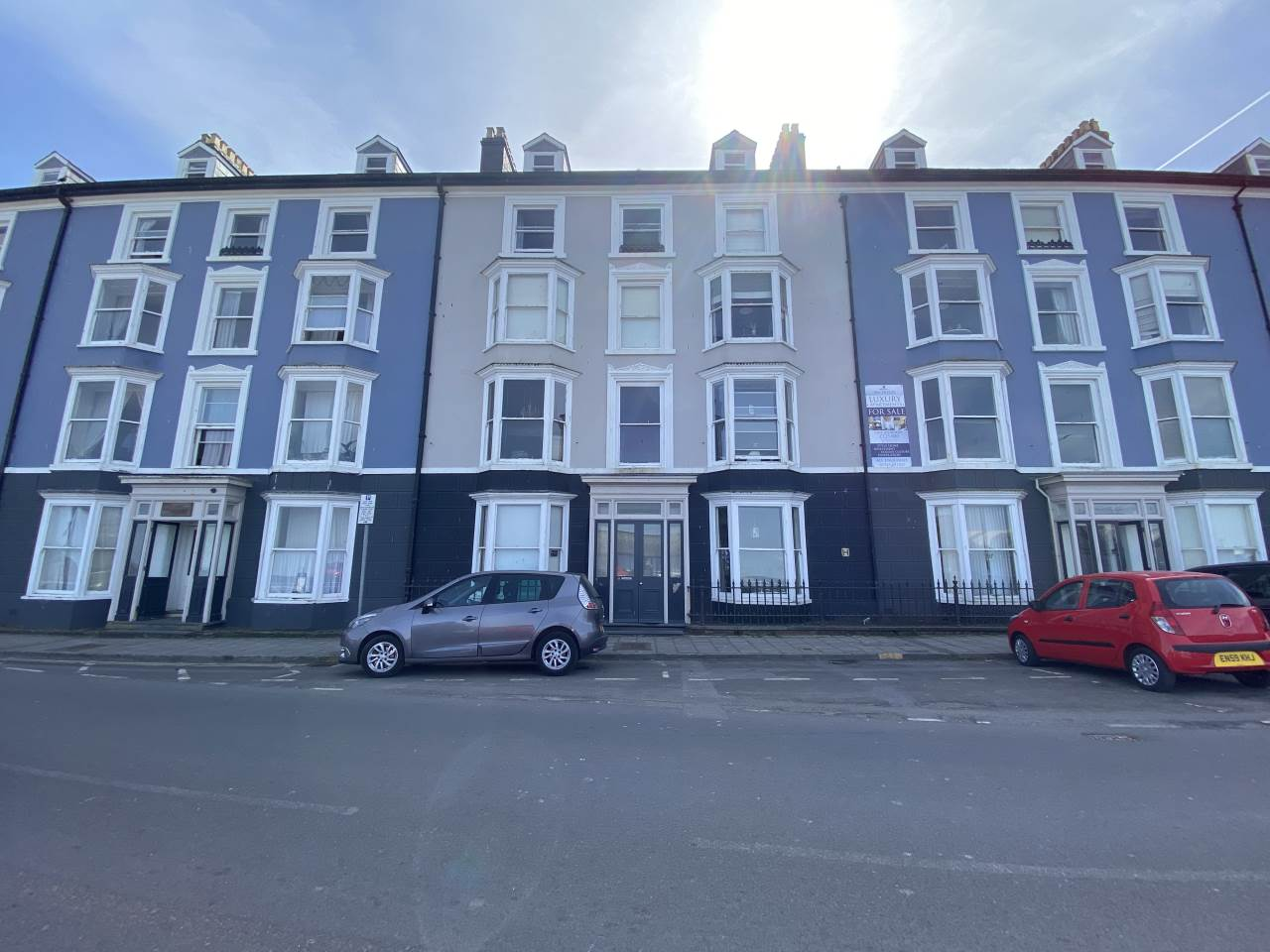 2 bed flat for sale in Flat 4, 9 Marine Terrace, Aberystwyth - Property Image 1
