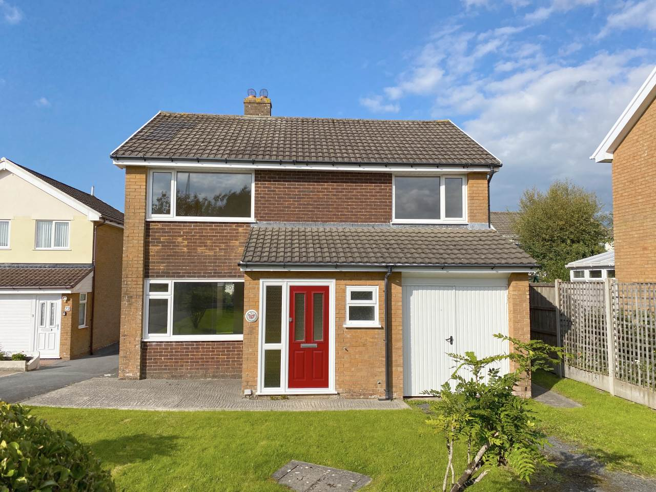 4 bed detached house for sale in Maesceinion, Waunfawr, SY23
