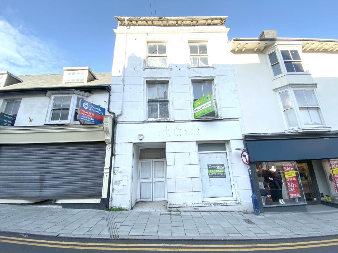 Commercial property for sale in Great Darkgate Street, Aberystwyth - Property Image 1