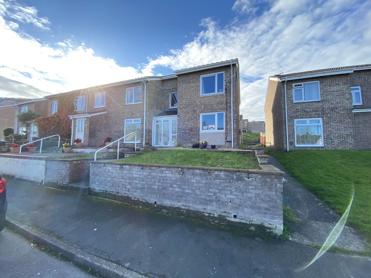 3 bed semi-detached house for sale in Heol Tyn Y Fron, Penparcau, SY23
