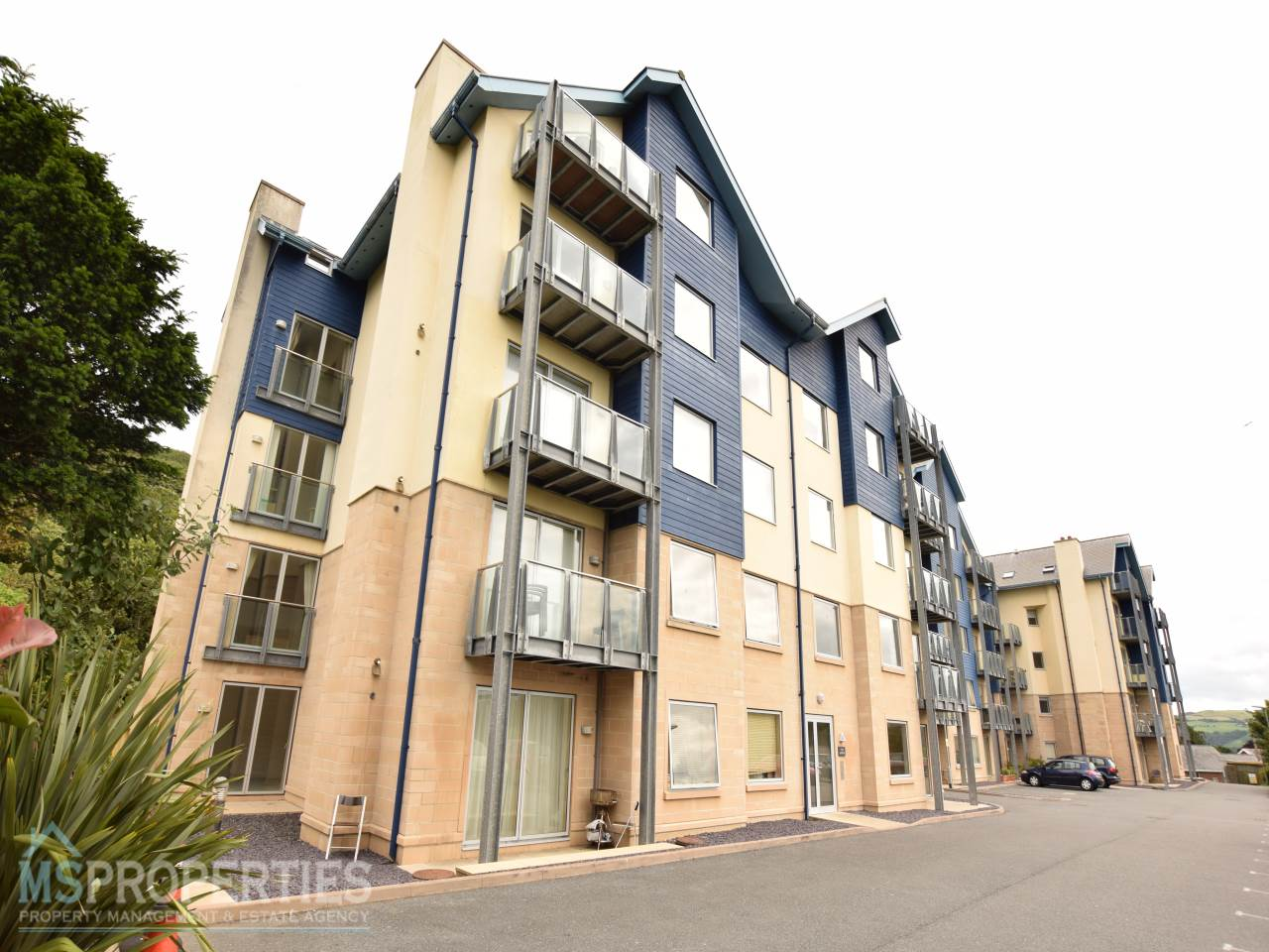 2 bed flat for sale in Plas Dyffryn, North Road, SY23
