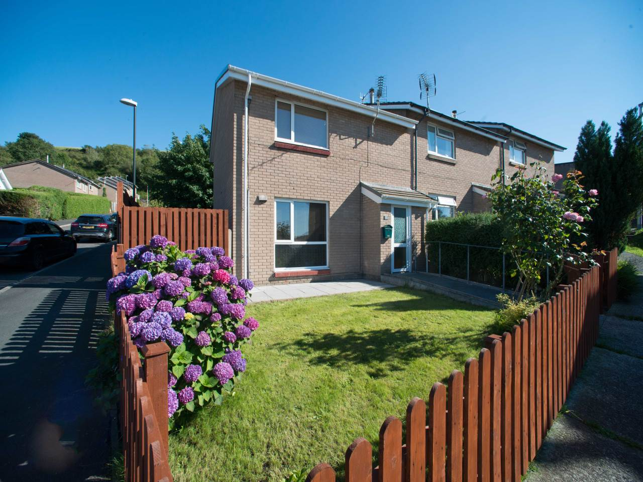 2 bed house for sale in Heol Tyn y Fron, Penparcau, SY23