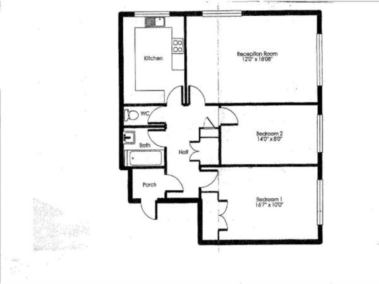 2 bed apartment for sale in Pellipar Close, London - Property Floorplan