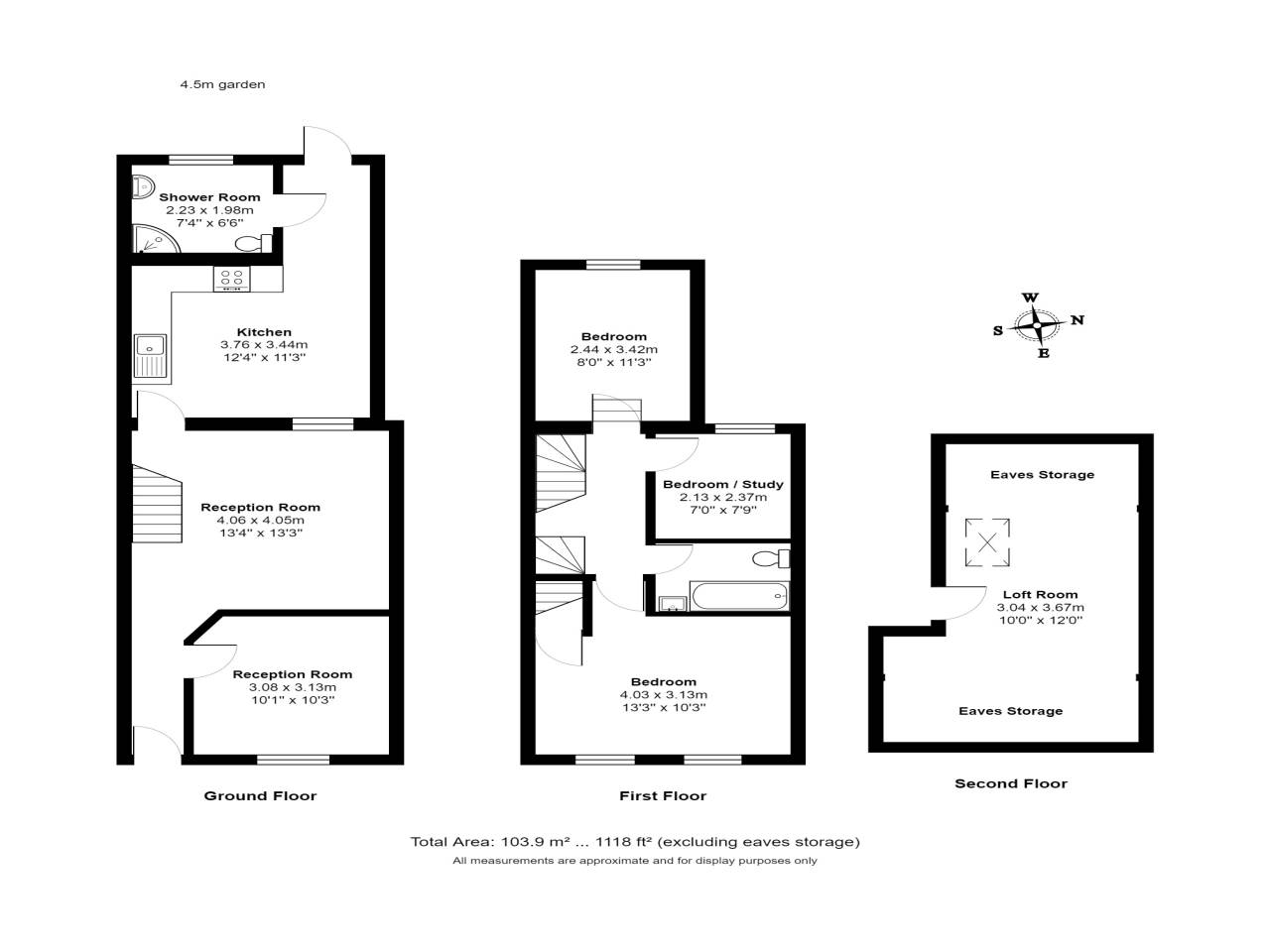 3 bed house for sale in Exning Road , Canning Town  - Property Floorplan