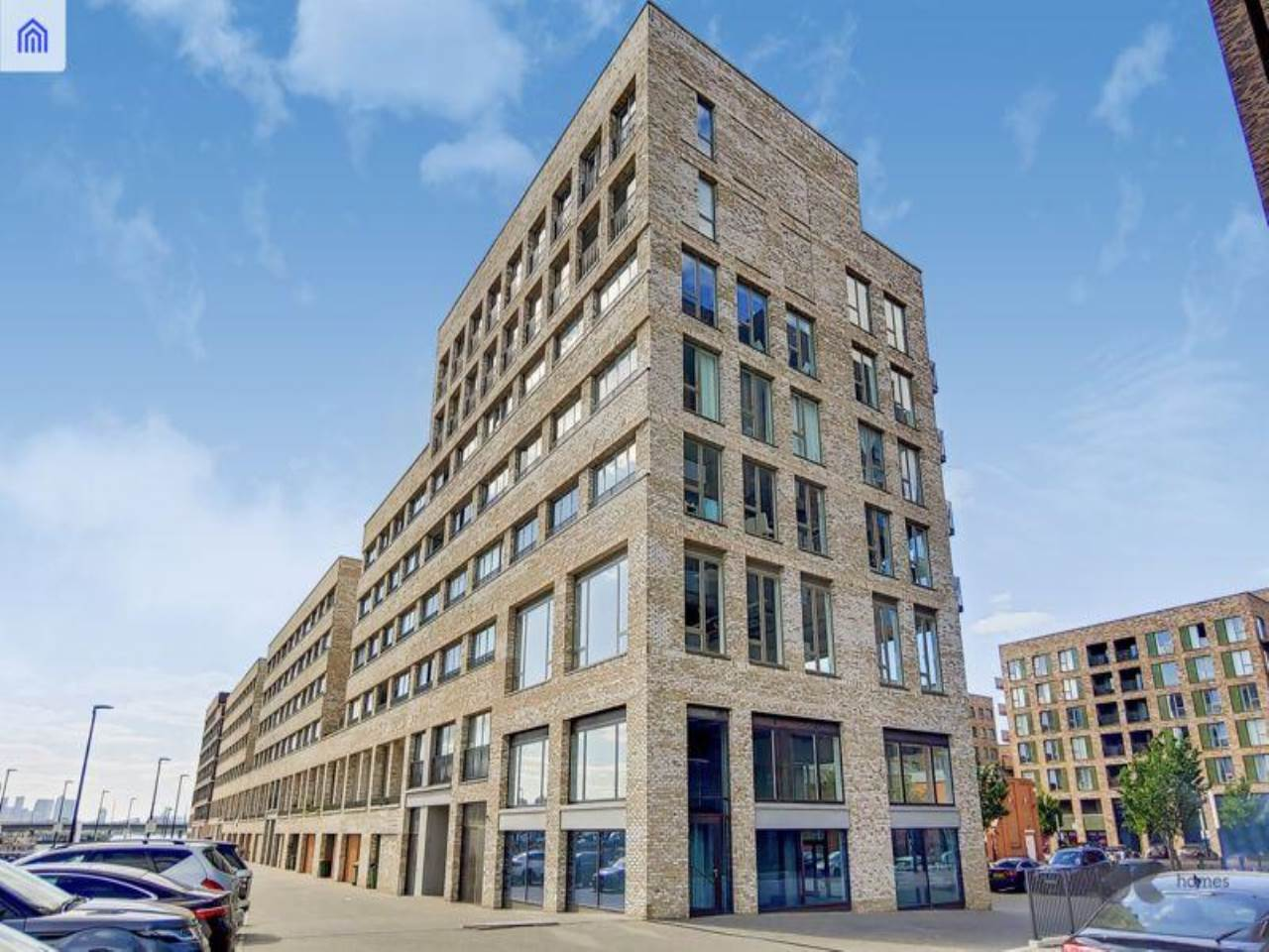 1 bed flat to rent in Baillie Apartments, Lockside Way, E16
