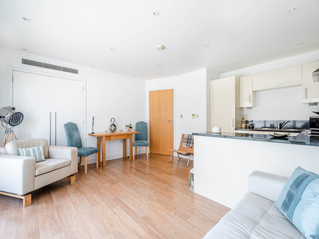 1 bed flat for sale in Albert Basin Way, E16