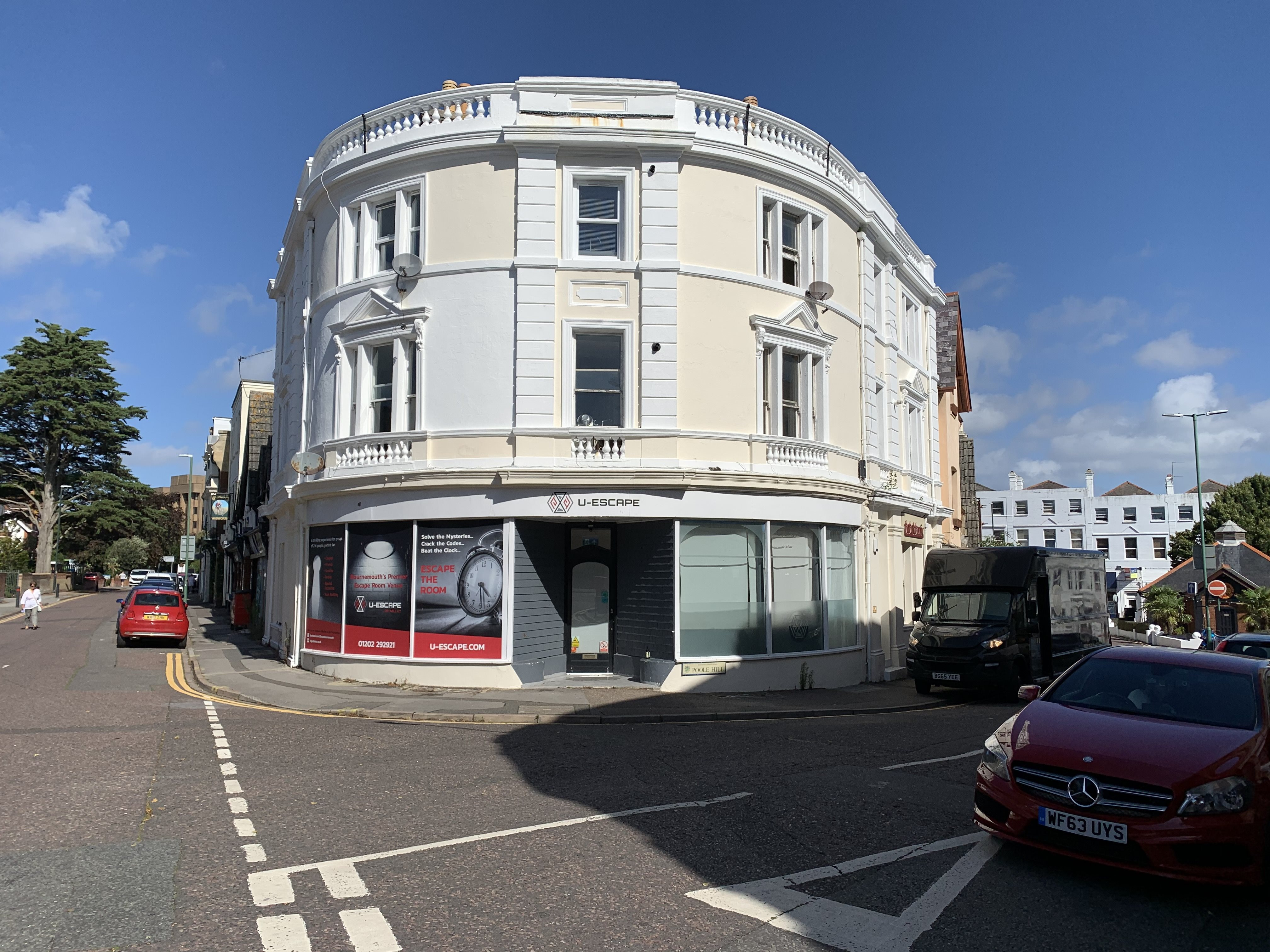 1 bed flat to rent in Poole Hill, BH2