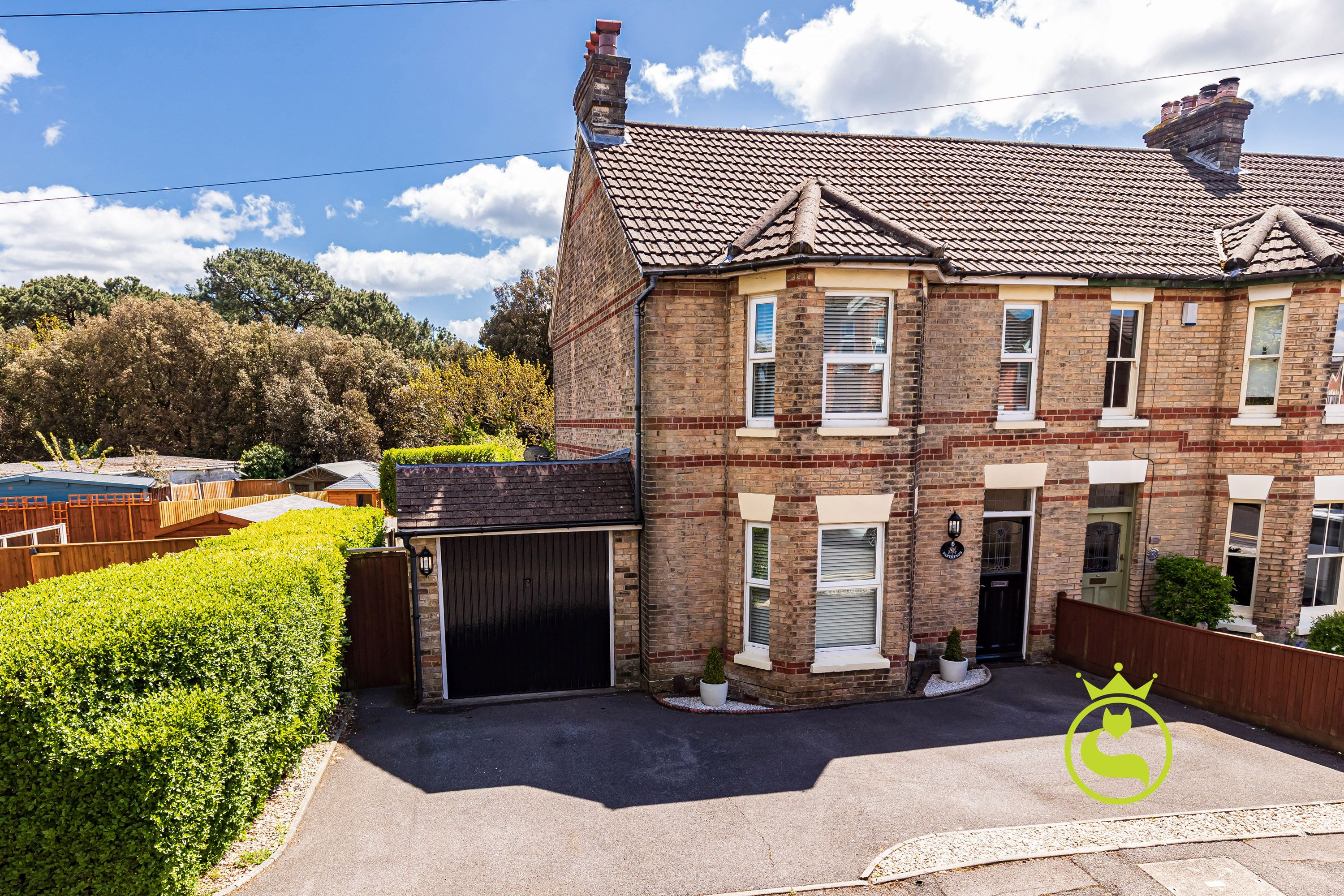 A charming and characterful three bedroom semi detached Victorian house benefiting from garage, driveway and a large garden. The property is immaculately presented and viewing is a must!