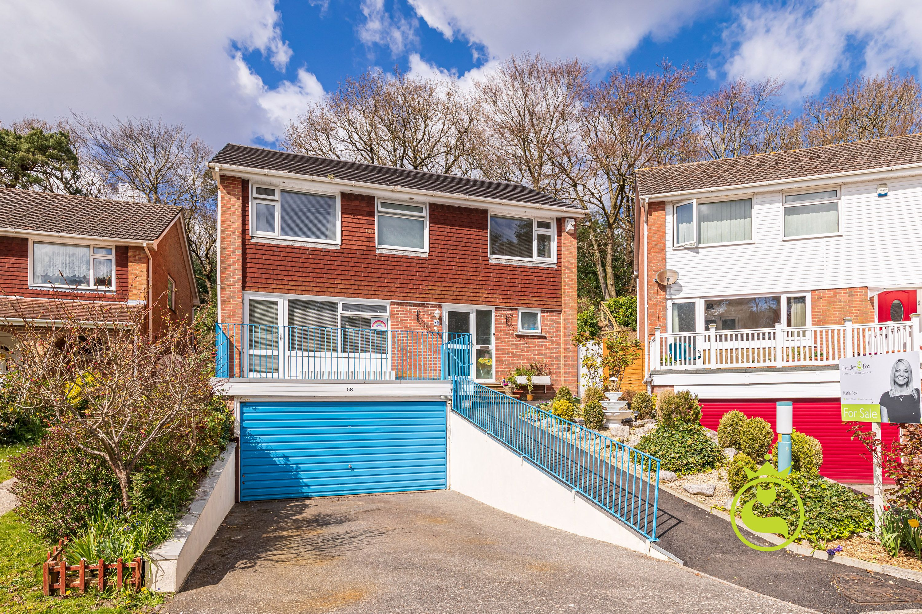 A substantial four bedroom, two bathroom detached family sized home with double garage and far reaching harbour views from the top of the garden. Situated in a quiet popular cul-de-sac location near to local schools, Poole town centre and Ashley Cross.
