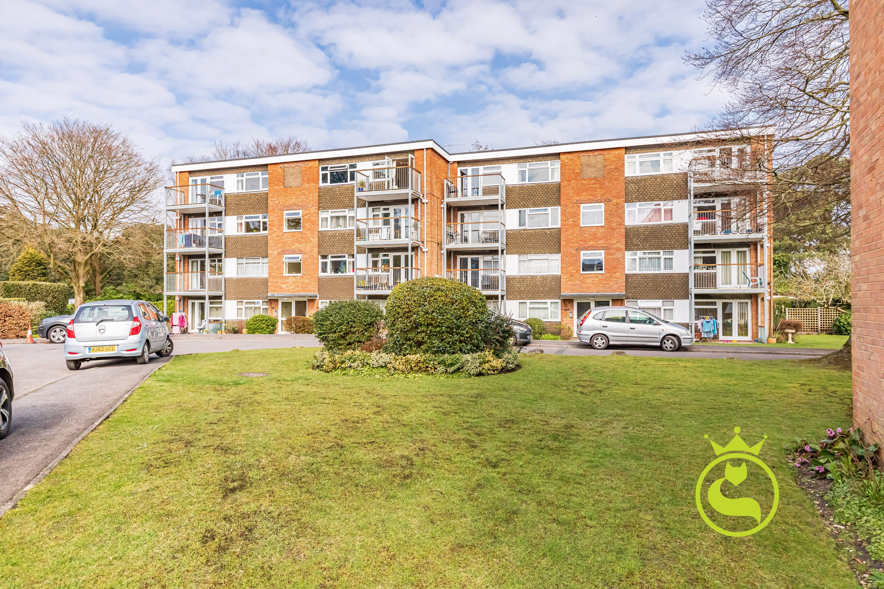 Two double bedroom top floor apartment complete with south facing balcony. Book your viewing slot now!