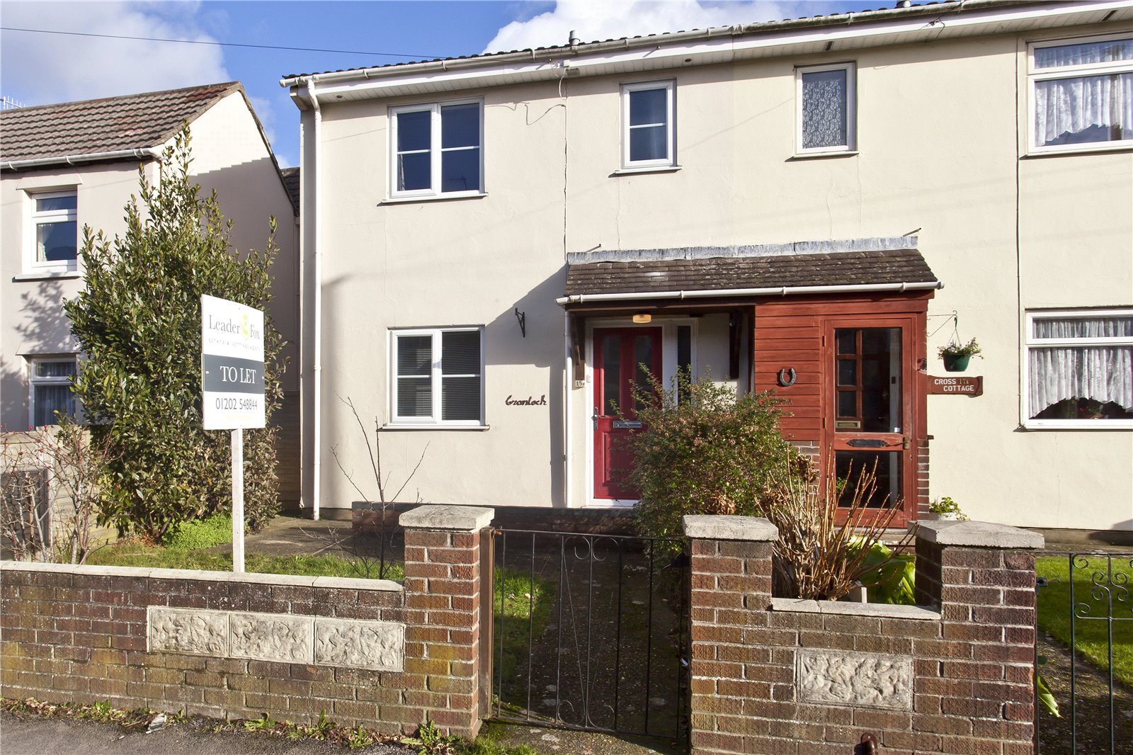 3 bed house to rent in Ashley Cross 0