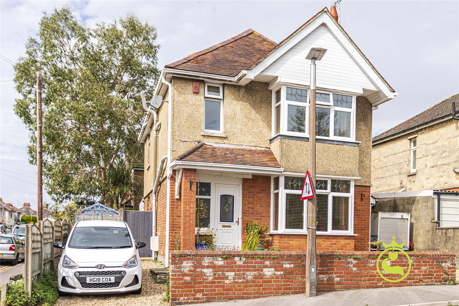 3 bed house for sale in Hardy Road, Lower Parkstone - Property Image 1