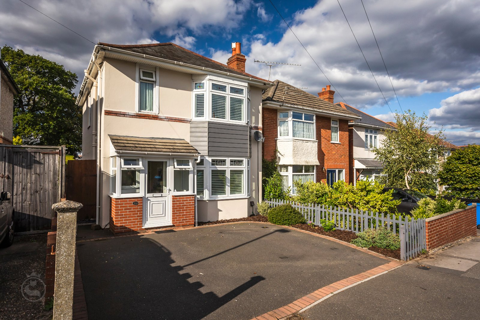 3 bed house for sale in Wroxham Road, Branksome  - Property Image 1
