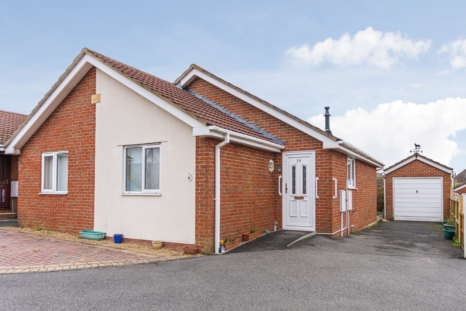3 bed bungalow for sale in Brixey Close, Poole, BH12