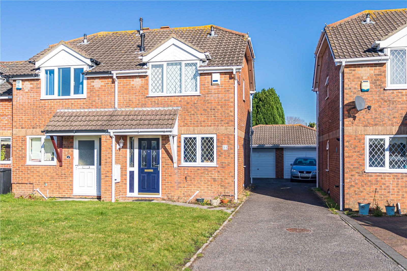 2 bed house for sale in Brixey Close, Parkstone, BH12
