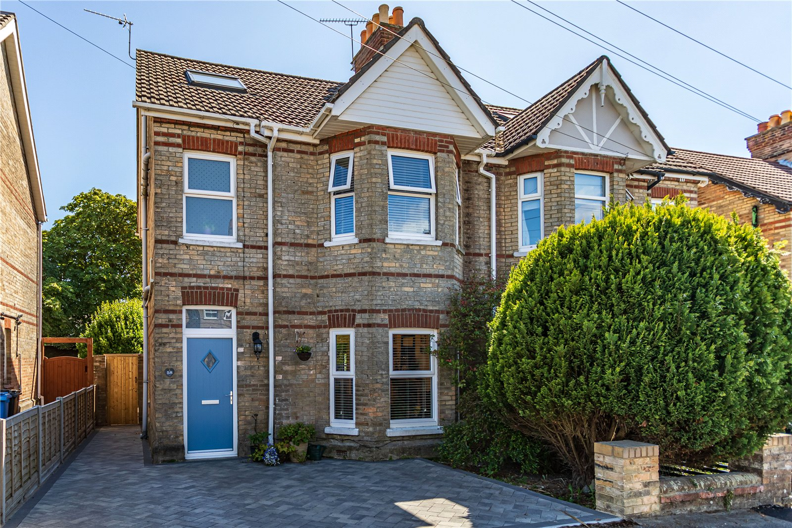 3 bed house for sale in Belmont Road, Lower Parkstone, BH14