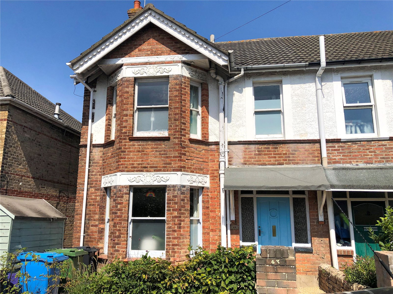 3 bed house for sale in North Road, Lower Parkstone, BH14