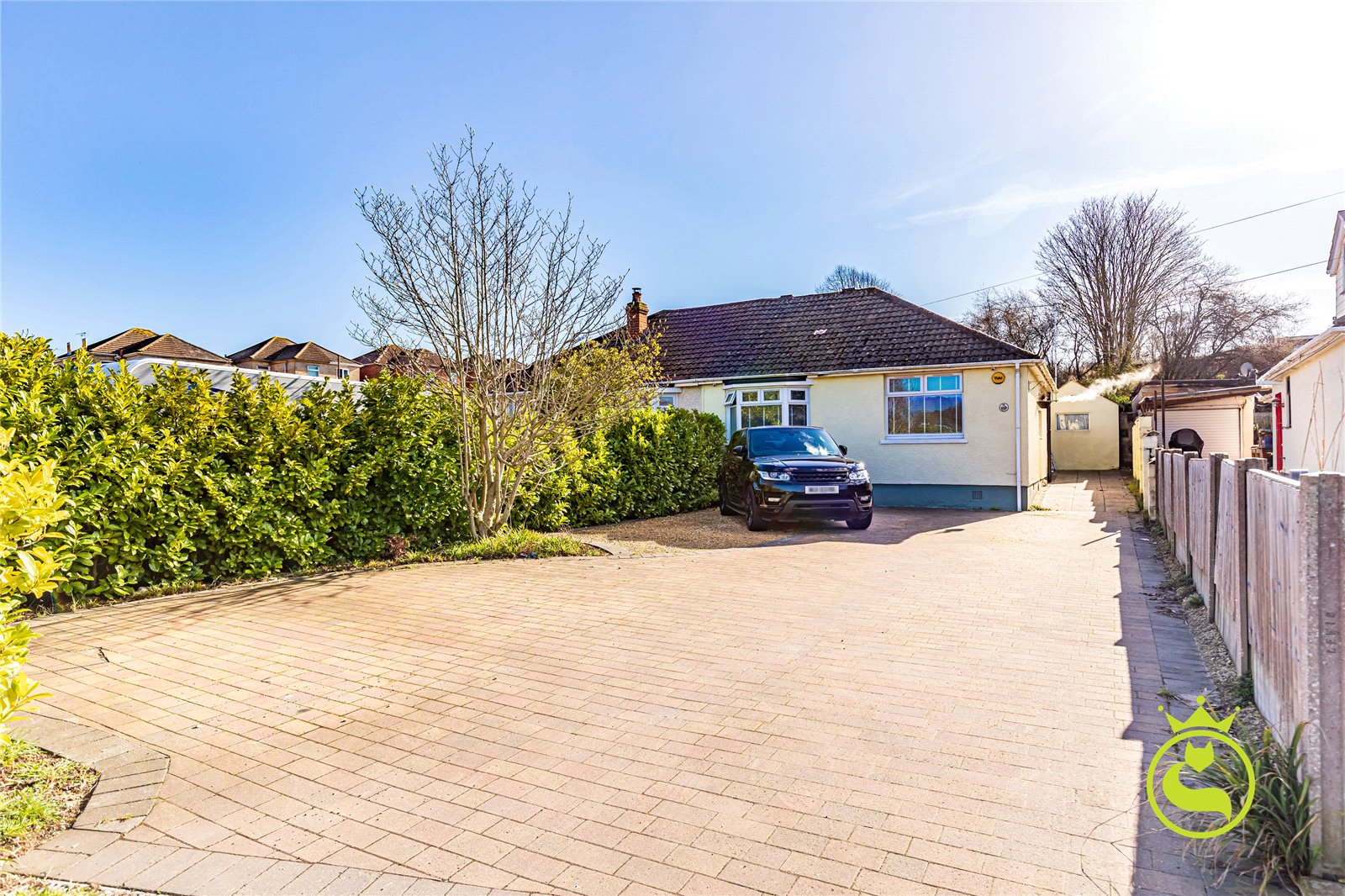 2 bed bungalow for sale in Recreation Road, Branksome, BH12