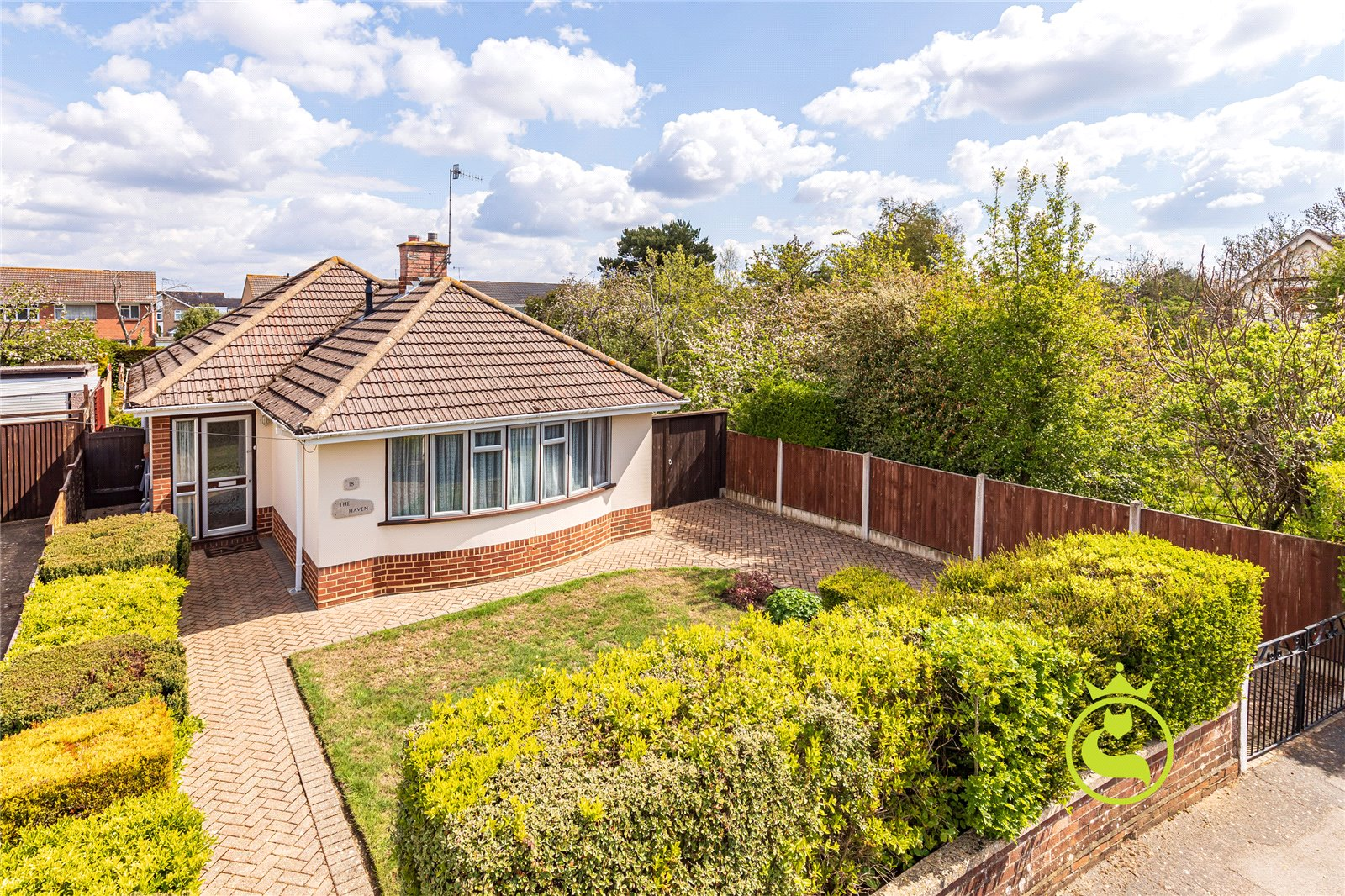 2 bed bungalow for sale in Rectory Road, Oakdale, BH15