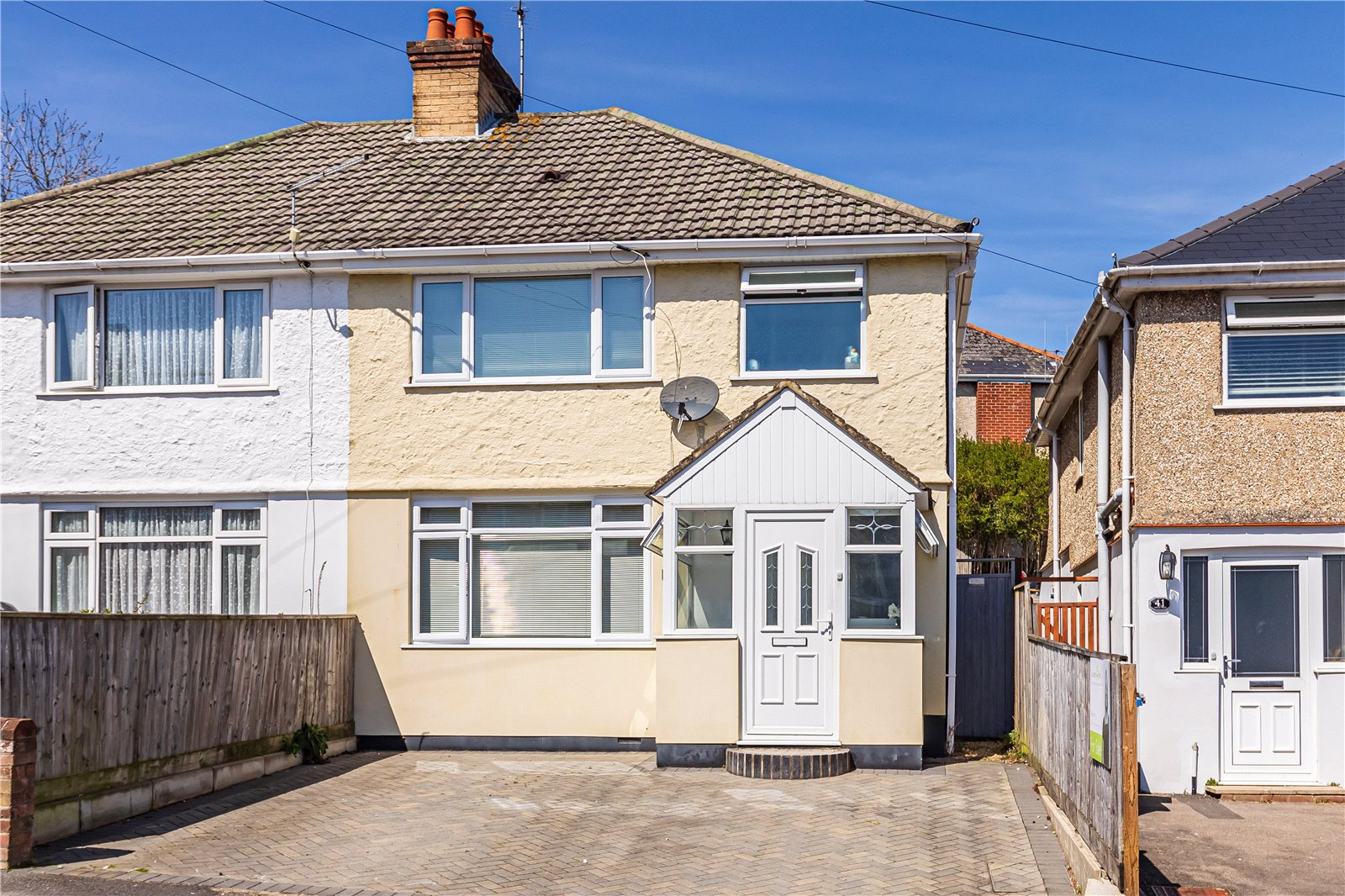 3 bed house for sale in Library Road, Parkstone, BH12