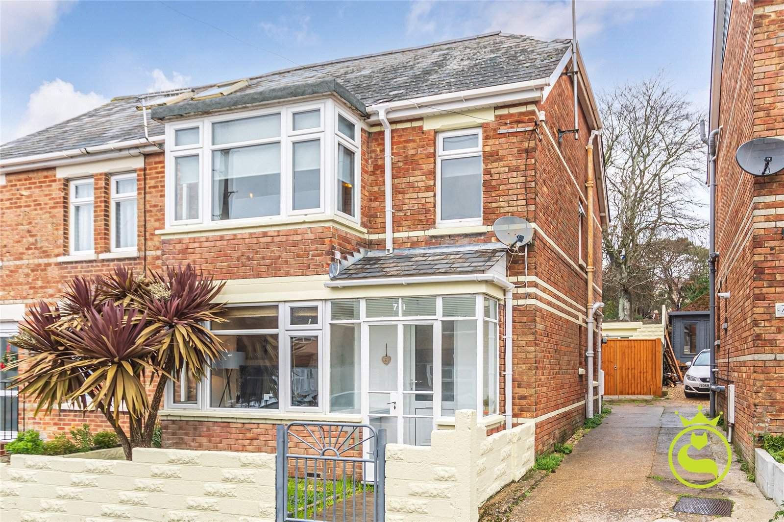 3 bed house to rent in Palmerston Road, Parkstone, BH14