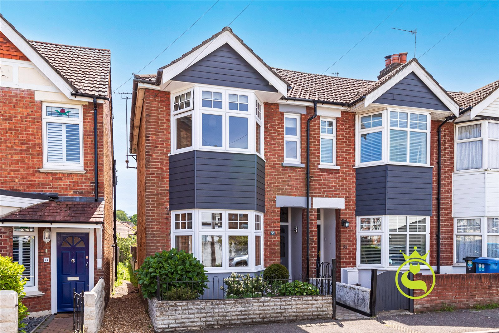 2 bed house for sale in Florence Road, Lower Parkstone  - Property Image 1