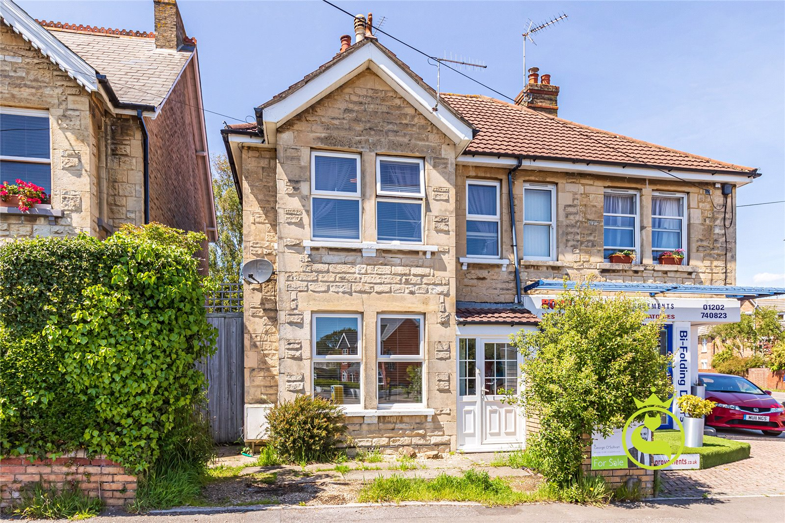 3 bed house for sale in Whitefield Road, Whitecliff, BH14