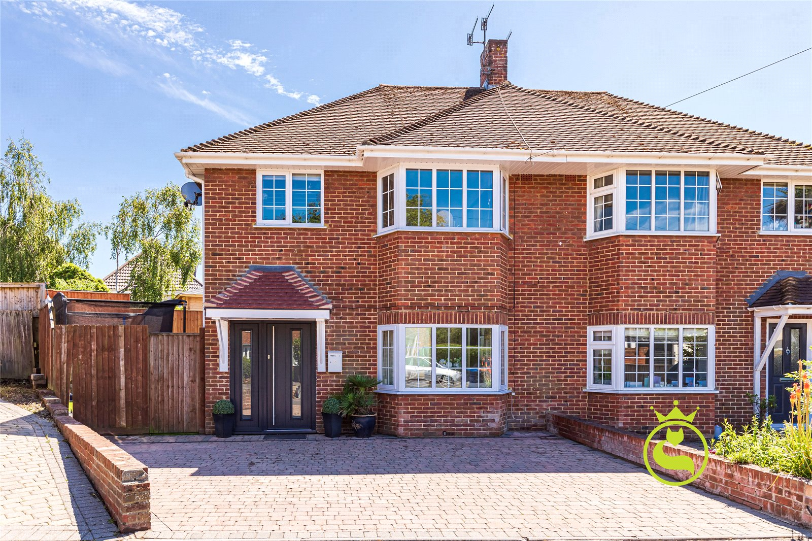 3 bed house for sale in Selworthy Close, Whitecliff, BH14