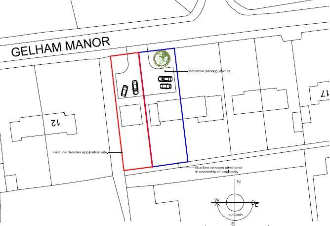 Plot for sale in Dersingham King's Lynn, PE31 6HN - Property Floorplan
