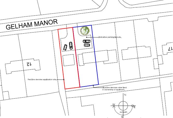 Plot for sale in Gelham Manor, Dersingham King's Lynn - Property Floorplan