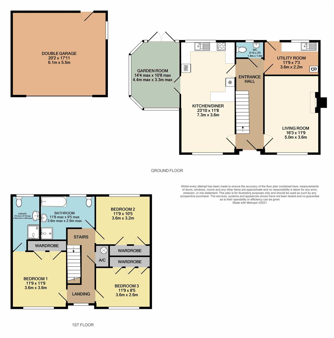 3 bed detached house for sale in Popes Lane, King's Lynn - Property Floorplan