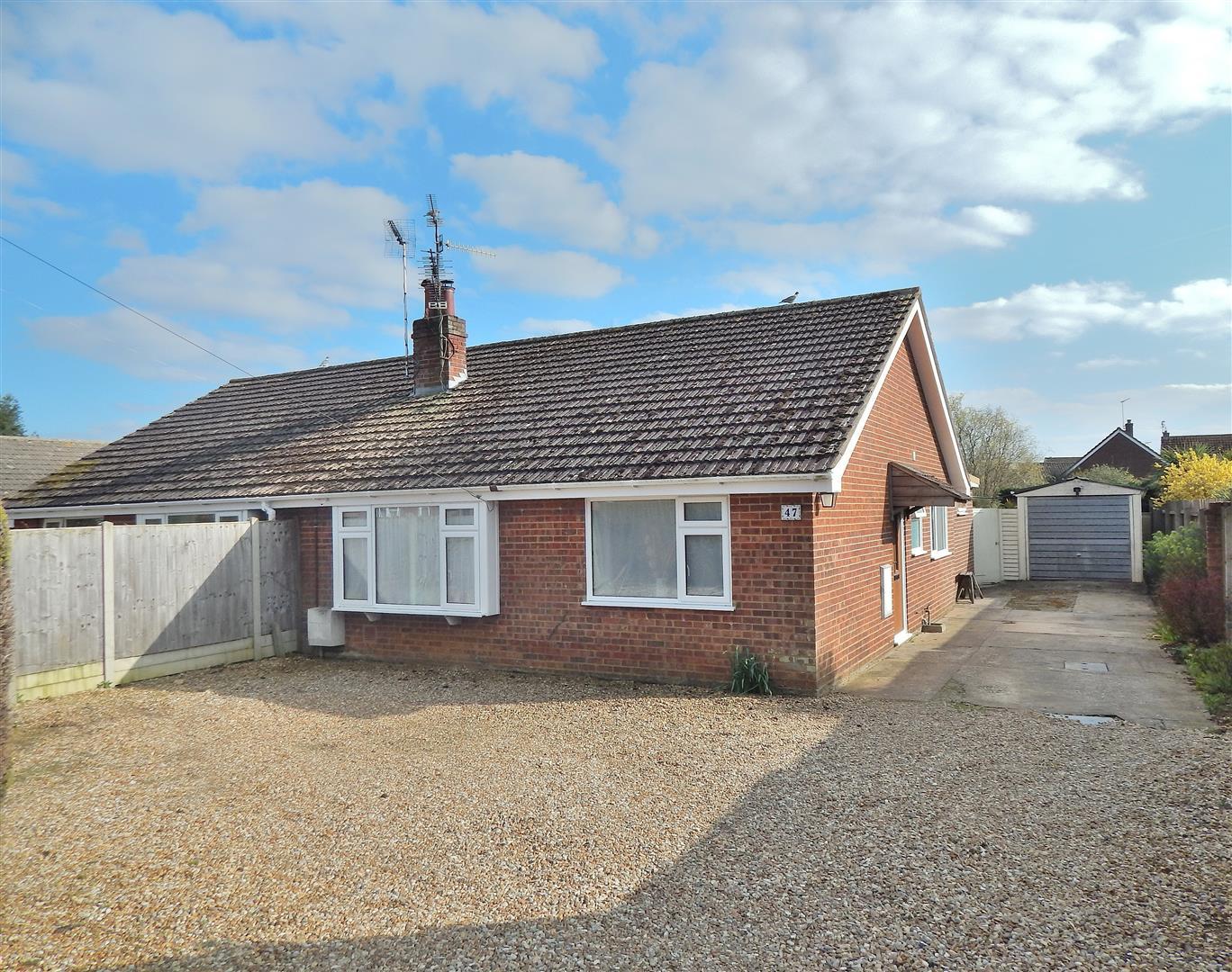 3 bed semi-detached bungalow for sale in King's Lynn, PE31 6PR, PE31