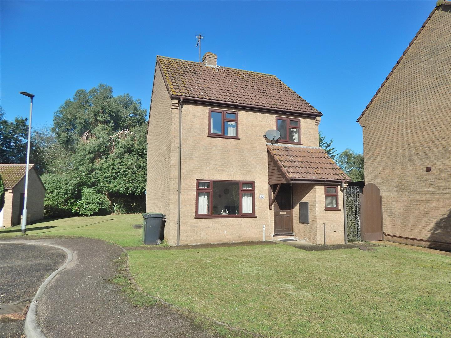 3 bed detached house for sale in Viceroy Close, King's Lynn, PE31