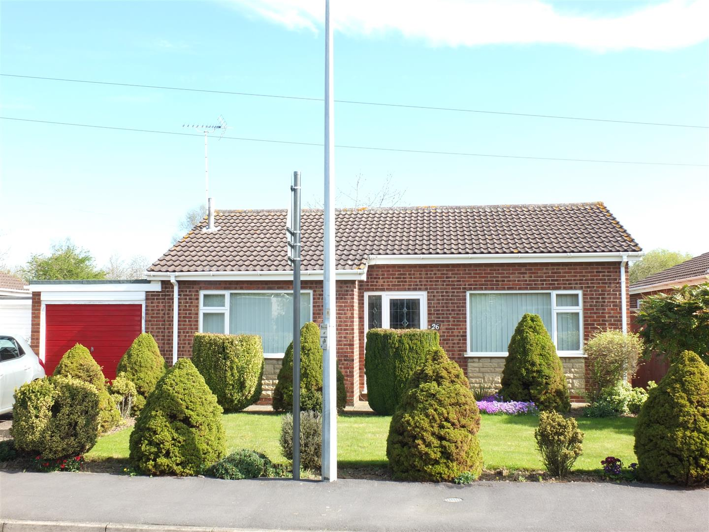 2 bed detached bungalow to rent in Long Sutton Spalding, PE12 9EP - Property Image 1