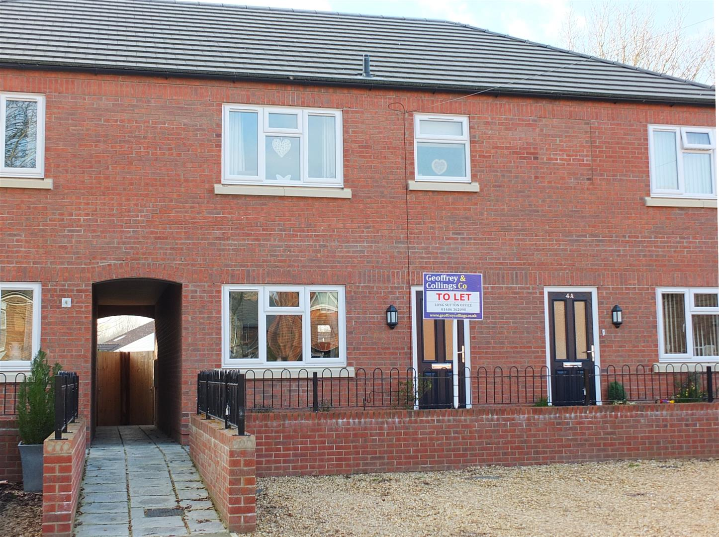 3 bed terraced house to rent in Swapcoat Lane, Long Sutton Spalding, PE12