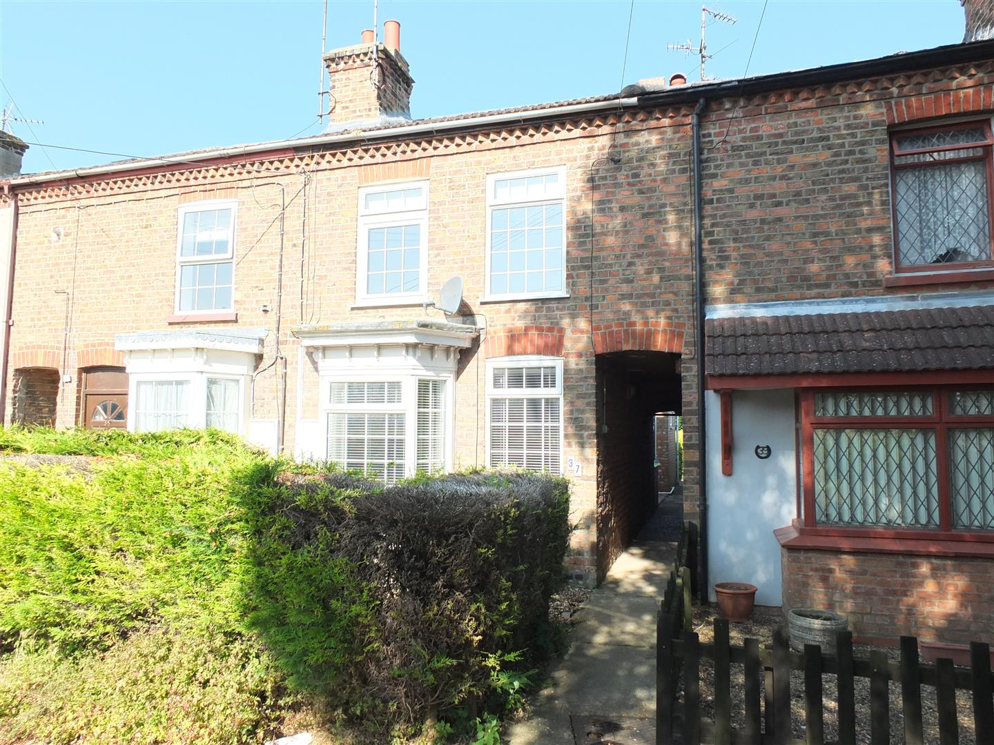 2 bed terraced house to rent in Sutton Bridge Spalding, PE12 9SX - Property Image 1