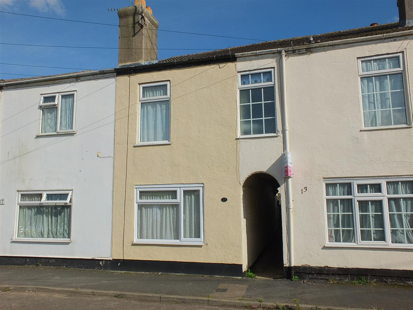 2 bed terraced house to rent in Sutton Bridge Spalding, PE12 9SR, PE12