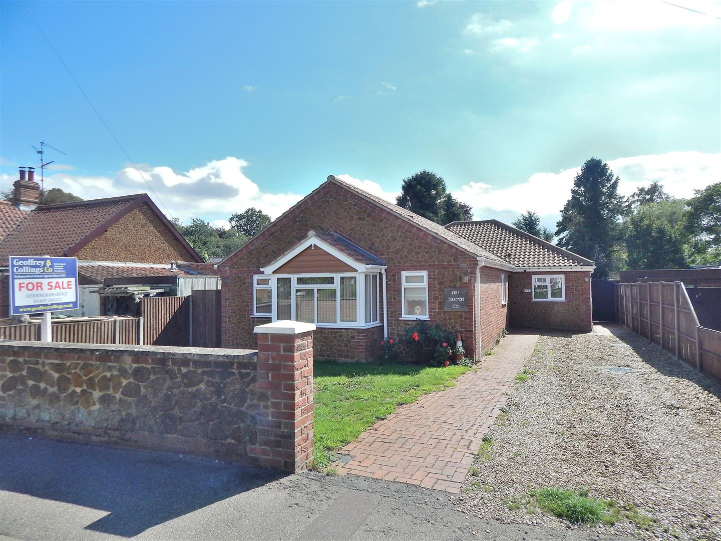 4 bed detached bungalow for sale in King's Lynn, PE31 7QL, PE31