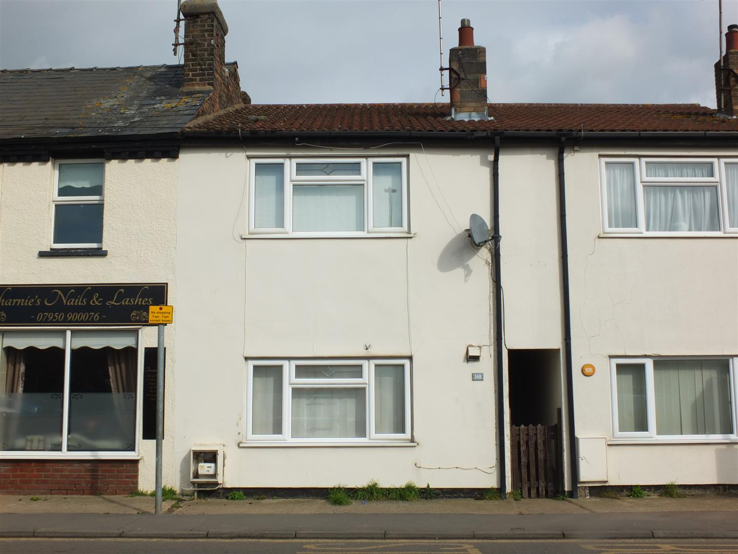 2 bed terraced house for sale in Sutton Bridge Spalding, PE12 9SF, PE12