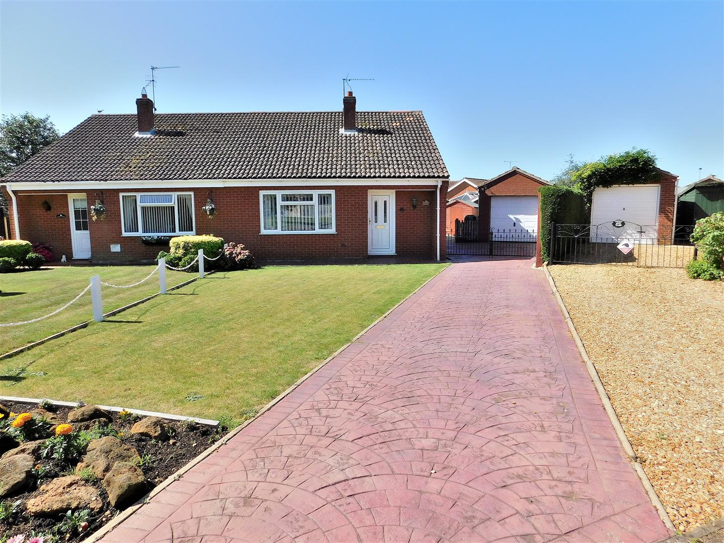 2 bed semi-detached bungalow for sale in Burma Close, King's Lynn, PE31